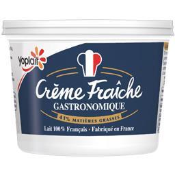 Crème fraîche gastronomique