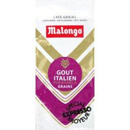 Café grains pur arabica goût italien