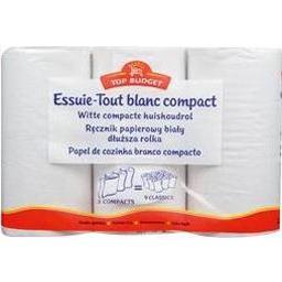 Essuie-tout blanc compact