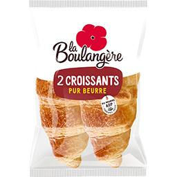 Croissants pur beurre extra fondant