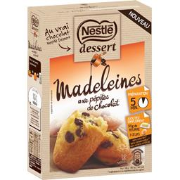 Dessert - Préparation madeleines aux pépites de chocolat
