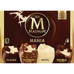 Glace assortiment Mania