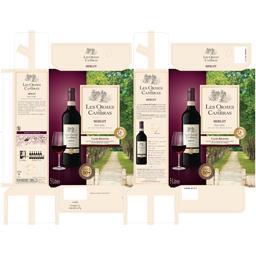 Vin de pays d'Oc Merlot vin rouge Cambras