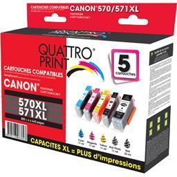 Pack cartouches encre compatibles Canon PGI-570XL/CL...