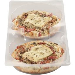 Pizza lardons emmental raclette