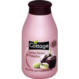 Gel douche lait hydratante cerise noire & pistache