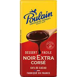 Chocolat noir extra corsé