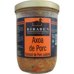 Biraben Axoa de porc le bocal de 720 g