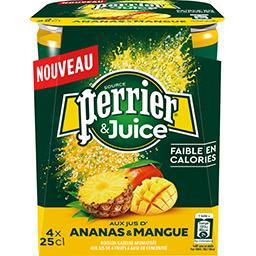 & Juice - Boisson gazeuse ananas & mangue
