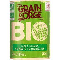 Bière blonde de haute fermentation BIO