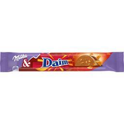 Barre chocolat au lait Daim
