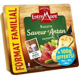 Entremont Raclette Saveur d'Antan la barquette de 700 g + 100 g offert