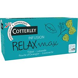 Cotterley Infusion Relax-Max les 25 sachets de 1,6 g