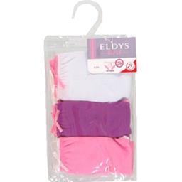Slips violet/blanc/rose pocket fille 2/3 ans