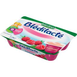 Blédilacté - Dessert infantile framboise, dès 6 mois