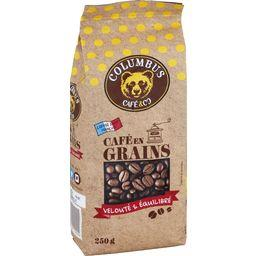Columbus Café & Co Café Grain Espresso Barista Blende 250 g - Lot de 6