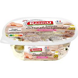 Salade à la strasbourgeoise aux cornichons