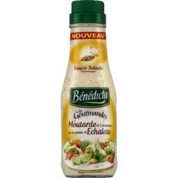 Sauce moutarde à l'ancienne pointe échalote - Les Gourmandes