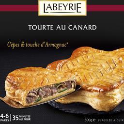 Tourte au canard cèpes & touche d'Armagnac