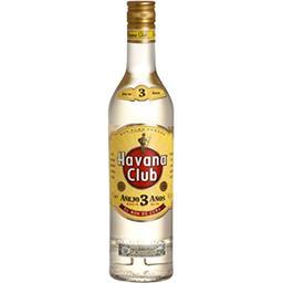 Havana Club Rhum cubain 3 ans d'âge la bouteille de 70 cl + 1 objet offert