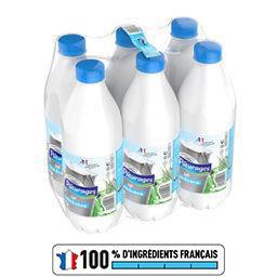Le lait, lait stérilisé UHT demi-écrémé