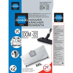 Sacs aspirateurs DOM-22 XXL compatibles Hoover, Kärc...