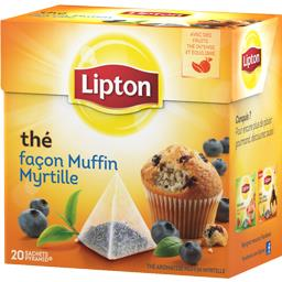Thé muffin myrtille