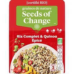 Riz complet & quinoa épicé BIO