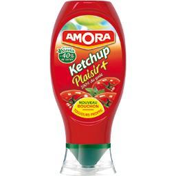 Ketchup plaisir + 100% du goût