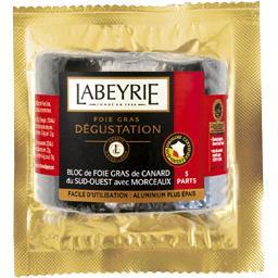 Labeyrie Bloc de foie gras de canard du Sud-Ouest avec morcea...
