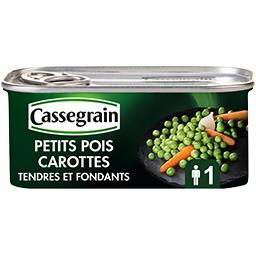Petits pois et carottes sélection tendres et fondants