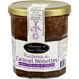 Onctueux de caramel noisette beurre salé au sel de Guérande