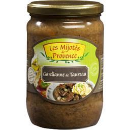 Les Mijotés de Provence Gardianne de Taureau le bocal de 600 g