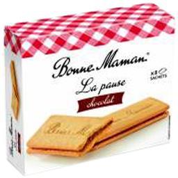 Biscuits La Pause chocolat au lait