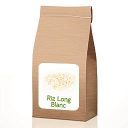 Riz long blanc BIO À partir de 50 gr