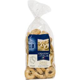 Creazioni d'Italia Taralli Pugliesi aux graines de fenouil le paquet de 400 g