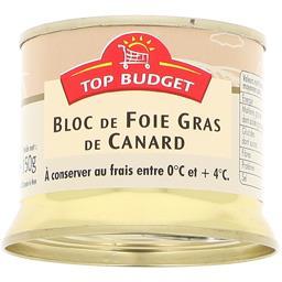 Bloc foie gras de canard mi cuit