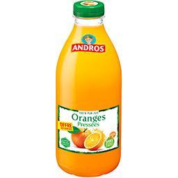 100% pur jus oranges pressées