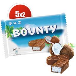 Barres chocolatées noix de coco