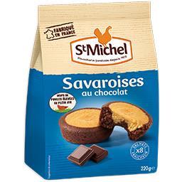 Savaroises au chocolat