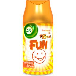 Freshmatic Max - Recharge spray automatique Pop Edition Fun notes agrumes
