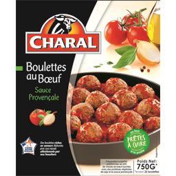 Boulettes au bœuf sauce provençale
