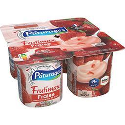 Frutimax - Yaourt brassé fraise avec morceaux