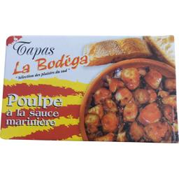 Bodéga Poulpe sauce marinière Le sachet de 112 gr