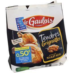 Tendres Grignottes au bon goût poulet rôti