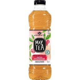 Thé infusé glacé thé blanc parfum framboise