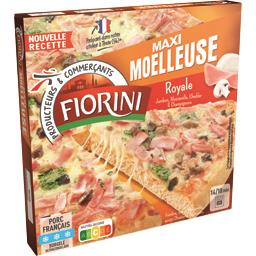 Maxi Gourmande - Pizza Royale jambon/mozzarella/cham...