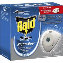Recharge diffuseur Night & Day moustiques, moustique...