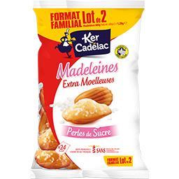 Ker Cadélac Madeleines perles de sucre