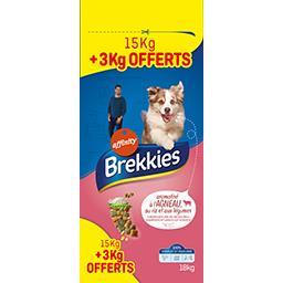 Brekkies Croquettes Adult à l'agneau et au riz pour chien le sac de 15 kg